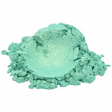 Lucky green luxury mica colorant pigment powder cosmetic grade 1 oz