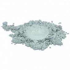 Metallic white luxury mica colorant pigment powder cosmetic grade 1 oz