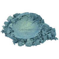 Ocean green aquamarine luxury mica colorant pigment powder cosmetic grade 2 oz