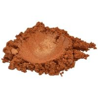 Passion orange bronze luxury mica colorant pigment powder cosmetic grade 1 oz