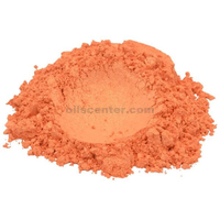 Shimmer tangerine pop orange mica colorant pigment powder cosmetic grade 2 oz