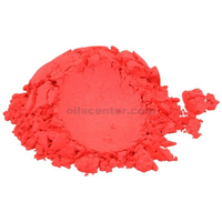 Soapberry red luxury mica colorant pigment powder for soap candle nail 2 oz