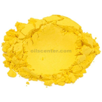 Soapberry yellow mica colorant pigment powder for soap making 4 oz
