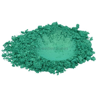 True green luxury mica colorant pigment powder cosmetic grade 4 oz