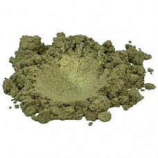 Verdigris gold / green luxury mica colorant pigment powder cosmetic grade 2 oz