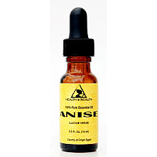 Anise essential oil aromatherapy natural 100% pure glass dropper 0.5 oz, 15 ml