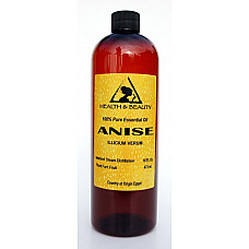 Anise essential oil aromatherapy natural 100% pure 16 oz