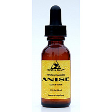 Anise essential oil aromatherapy natural 100% pure glass dropper 1 oz, 30 ml