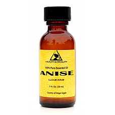 Anise essential oil aromatherapy natural 100% pure glass bottle 1 oz, 30 ml
