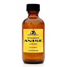 Anise essential oil aromatherapy natural 100% pure glass bottle 2 oz, 60 ml