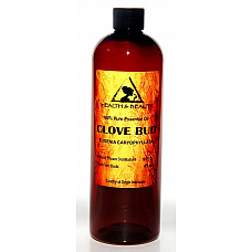 Clove bud essential oil aromatherapy 100% pure natural 32 oz