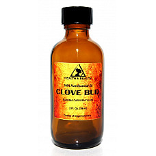 Clove bud essential oil aromatherapy 100% pure natural glass bott 2.0 oz, 59 ml