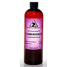 Coriander essential oil aromatherapy 100% pure natural 16 oz