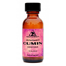 Cumin essential oil aromatherapy natural 100% pure glass bottle 1.0 oz, 30 ml