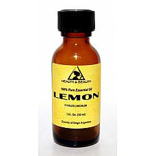 Lemon essential oil aromatherapy 100% pure natural glass bottle 1 oz, 30 ml