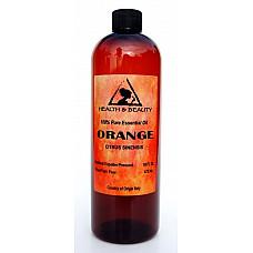 Orange essential oil organic aromatherapy natural 100% pure 16 oz