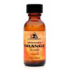Orange essential oil organic aromatherapy 100% pure glass bottle 1 oz, 30 ml