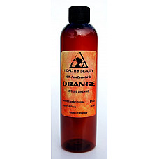 Orange essential oil organic aromatherapy natural 100% pure 8 oz