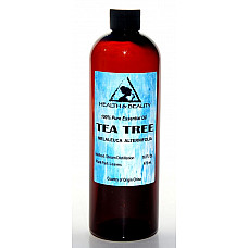 Tea tree essential oil aromatherapy natural 100% pure 16 oz