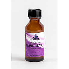Ylang ylang essential oil organic aromatherapy pure glass bottle 1 oz, 30 ml