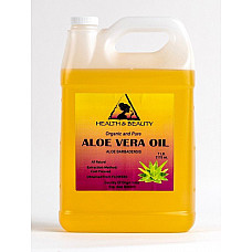 Aloe vera oil organic carrier cold pressed premium natural 100% pure 7 lb