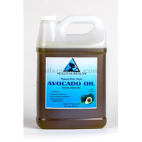 Avocado oil extra virgin organic unrefined cold pressed raw natural pure 7 lb
