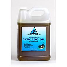 Avocado oil extra virgin organic unrefined cold pressed raw natural pure 7 lb