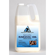 Babassu oil organic carrier cold pressed natural fresh premium 100% pure 7 lb