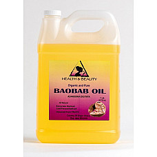 Baobab oil refined organic carrier cold pressed premium fresh 100% pure 7 lb