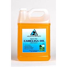 Camelina oil unrefined organic virgin cold pressed raw premium fresh pure 7 lb