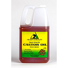 Castor oil turkey red organic cold pressed hexane free pure 7 lb