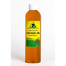 Castor oil turkey red organic cold pressed hexane free pure 8 oz