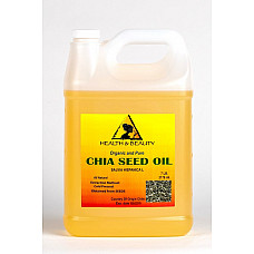 Chia seed oil organic carrier cold pressed natural fresh 100% pure 7 lb