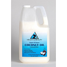 Coconut oil 92 degree organic carrier refined cold pressed 100% pure 7 lb