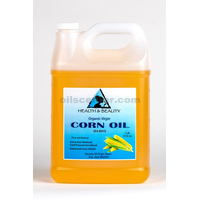 Corn / maize oil organic unrefined virgin cold pressed raw premium pure 7 lb