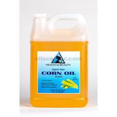 Corn / maize oil organic unrefined virgin cold pressed raw premium pure 7 lb