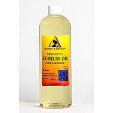 Echium seed oil organic refined cold pressed premium fresh prime 100% pure 16 oz