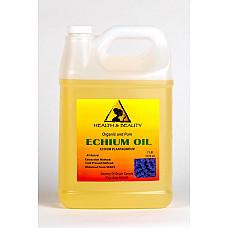 Echium seed oil organic refined cold pressed premium fresh prime 100% pure 7 lb