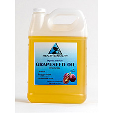 Grapeseed oil organic carrier cold pressed 100% pure 7 lb
