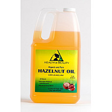Hazelnut oil organic carrier cold pressed 100% pure 7 lb