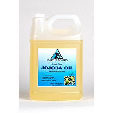 Jojoba oil clear organic carrier cold pressed refined 100% pure 7 lb
