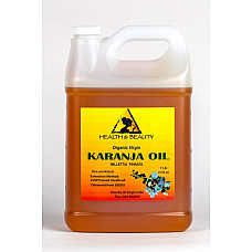 Karanja / pongamia oil organic unrefined virgin cold pressed raw pure 7 lb