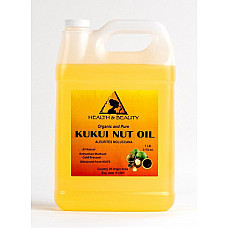 Kukui nut oil organic carrier cold pressed natural 100% pure 7 lb