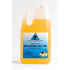 Macadamia nut oil organic carrier cold pressed 100% pure 7 lb