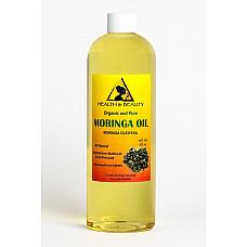Moringa oleifera oil organic carrier cold pressed natural fresh 100% pure 16 oz
