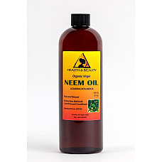 Neem oil organic unrefined concentrate virgin cold pressed raw pure 16 oz