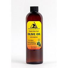 Olive oil extra virgin organic unrefined raw cold pressed premium pure 12 oz