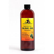 Olive oil extra virgin organic unrefined raw cold pressed premium pure 16 oz