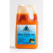 "Palm oil ""red"" extra virgin unrefined organic carrier cold pressed pure 7 lb"