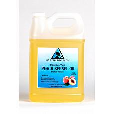 Peach kernel oil organic refined cold pressed premium fresh 100% pure 7 lb